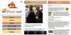 """Capital Area Food Bank of Texas — """"iPheedaNeed"""" iPhone App"""