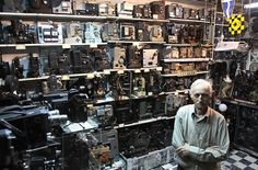 As of May 9, 2010, Dimitris Pistiolas of Athens owned the world's largest private collection of movie cameras — 937 vintage models and projectors.