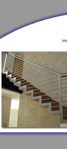 Replace the Metal Newel Posts with Wood and the Top Rails with wood and it's a great concept for downstairs!