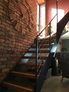 Contemporary design of staircase near Bristol