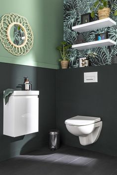 Small Toilet Room, Guest Toilet, Downstairs Toilet, Wc Design, Toilet Design, Spa Like Bathroom, Bathroom Design Small, Pack Wc, Bedroom Decor For Couples