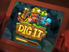 Dig It Loading Page by Andru Gavrish