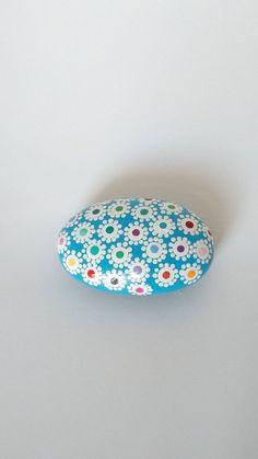 Individually hand painted mandala rocks. by Carolsmandalarocks