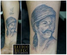 # Hero # Sangolli rayanna # ;) Get inked from Experienced Tattoo Professional.. Call: Sunil Ck @ +91 9035217218 to book your appointment.  www.facebook.com/tattooimpec