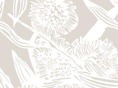 Hakea (Chateau Reverse) | Jude Taylor | Wildflower Art, Design & Fabric | Swan Valley, Perth, WESTERN AUSTRALIA
