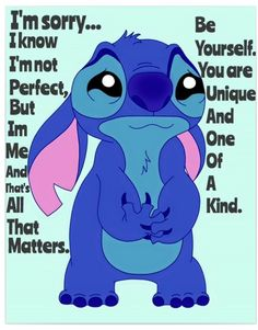 Funny True Quotes, Funny Relatable Memes, Cute Animal Quotes, Cute Quotes, Disney Memes, Disney Quotes, Lilo And Stitch Memes, Lilo Stitch, Stich Quotes