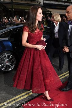 04.04.2017 Księżna Kate W markizy Notte przy Drury Lane