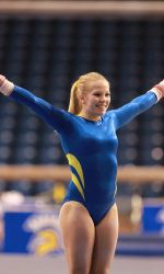 Gymnastics Earns Fifth-Best Team Score In School History #sjsu #spartansports #sjsugymnastices