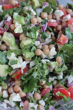 Cauliflower and Chickpea Salad - Hip Foodie Mom