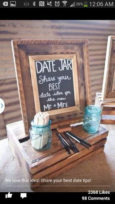 Date Jar would do this for the bridal shower/bachelorette party :)