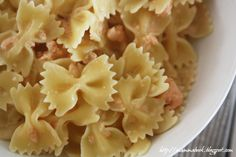 Farfalle with Salmon (recipe available also in English)