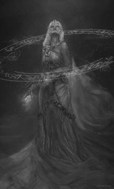 Atlantian Goddess by B-Dunn.deviantart.com on @deviantART