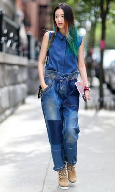 Comment porter le total look denim | Clin d'oeil