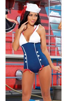$18.99 Pinup Sailor Costume