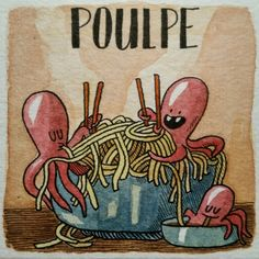 P comme poulpe - Guillaume Long