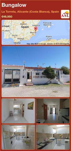 Bungalow in La Torreta, Alicante (Costa Blanca), Spain ►€49,950 #PropertyForSaleInSpain