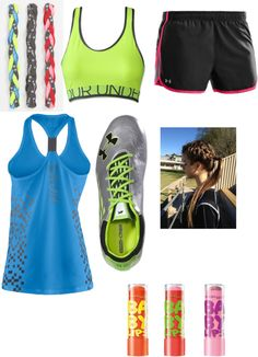 """track practice"" by tuggerd ❤ liked on Polyvore"