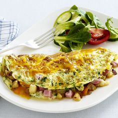 This is a healthier take on the traditional omelet! YUMM!!!