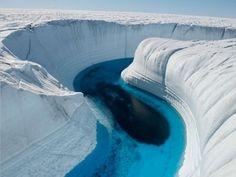 Ледяной каньон, Гренландия.