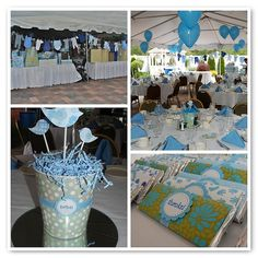 Twin Boy Baby Shower - bird theme, clothes line, favors#Repin By:Pinterest++ for iPad#