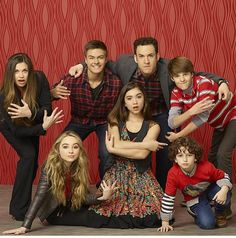 Cast of Girl Meets World: Danielle Fisher, Peyton Meyer, Ben Savage, Corey Fogelmanis, Meeeeee, Rowan Blanchard, and August Maturo.( My second family ‍‍‍)