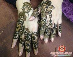 Henna design from the Arabian Gulf. #khaleej