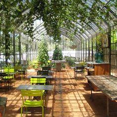 Orangerie  Looks like the ideal classroom to me!
