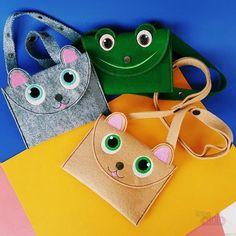 Оригинальные сумки своими руками - милый клатч