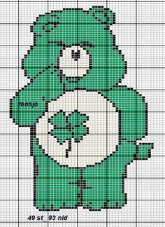 CHARMS IN CROSS POINT: Care Bears