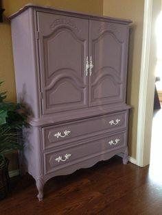 Dresser/Chest of Drawers redone by www.thecraftymarine.com