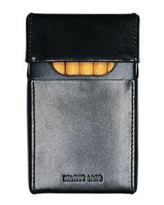 Helmut Lang Cigarette case, S/S 2002. Smoking is no good, but this is something great.