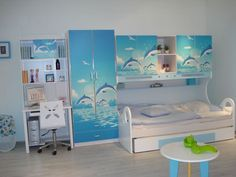 Attractive Fish Capacity Are Actual Accepted For A Childu0027s Bedroom. Description Fromu2026  | Dolphin Decor | Pinterest | Bedrooms, Room Ideas And Room