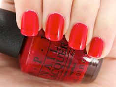 OPI Brazil Collection (S/S 2014): Red Hot Rio