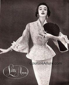 Lilli Ann suit.