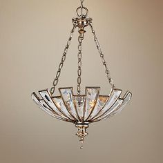 Bring a new sense of elegance to your dining room or entry area with the Vicentina pendant chandelier.