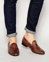 Handmade Men brown leather loafers, Men slipons, Men's loafers shoes, Men style on Storenvy Handmade Leather Shoes, Suede Leather Shoes, Brown Leather Loafers, Soft Leather, Black Suede, Mens Loafers Shoes, Loafer Shoes, Shoes Men, Mezlan Shoes
