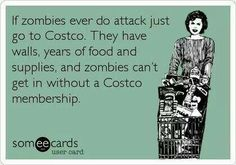 Zombies and Costco