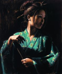 Fabian Perez art gallery, committed to offering great prices to the public. We specialize in Fabian Perez original paintings and limited edition prints. Japanese Art, Fabian Perez, Painter, Painting, Female Art, Woman Painting, Art, Figurative Art, Original Art Painting