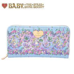 59.00$  Buy here - http://visir.justgood.pw/vig/item.php?t=jwybr1f8332 - Baby The Stars Shine Bright x Disney Japan Curious Garden Lolita Wallet Kawaii