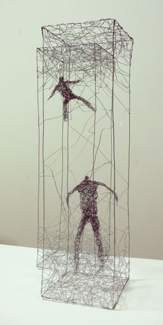 Sydney based artist Barbara Licha creates beautiful wire sculptures that explore the physical and emotional space of our contemporary urban ...