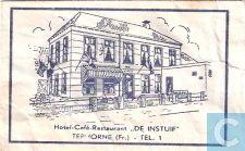"""Suikerzakjes - Zakjes - Hotel Café Restaurant """"De Instuif"""""""