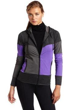 I want it! HKNB Heidi Klum For New Balance Women's Paneled Zip-Up Hoodie