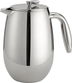 Bodum® Columbia 34 Ounce Stainless Steel Double Wall Thermal French Press| ...I HAVE to stop breaking our glass french press carafes. I've spent at least $80 replacing them at this point...