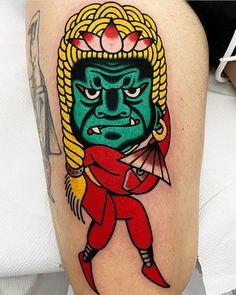 By our resident tattooist @javier_rodrigueztattoo  Book: javierrodrigueztattoo@gmail.com  #tattoo #sangbleulondon #traditionaltattoo #colourtattoo #javierrodrigueztattoo #dalstontattoo #sangbleutattoo Javier Rodriguez, Colour Tattoo, Traditional Tattoo, Tattoo Studio, Creative Director, Blackwork, Tattoo Artists, Singing, London