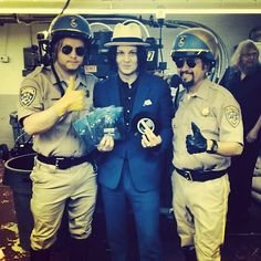 Jack White breaks World's Fastest Record during Record Store Day
