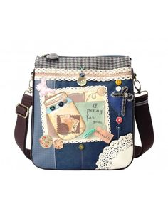 Penny For Your Thoughts Crossbody Bag