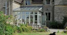 listed period house with conservatory