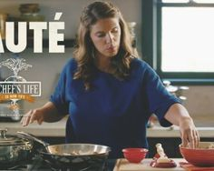 How to Sauté Vegetables | Chef Vivian Howard | A Chef's Life | Yahoo Food