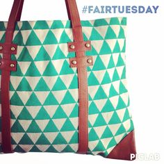 Follow @fairtuesday to pin and win our Turquoise Portfolio Tote! Check out all the great #fairtuesday discounts at www.fairtuesday.com #fairtrade