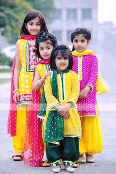 Pakistani and Indian Clothing,Pakistani Salwar Kameez and Indian Sarees, Asian Dresses in Europe, USA and Canada Kids Party Wear, Kids Wear, Pakistani Outfits, Indian Outfits, Indian Dresses, Baby Girl Dresses, Baby Dress, Little Girl Fashion, Kids Fashion